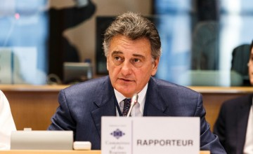 04 December 2015, 115th Plenary Session of the Committee of the Regions - rapporteur Jean-Luc VanraesBelgium - Brussels - December 2015© European Union / Wim Daneels