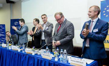Bart Somers, Rokas Masiulis, Petras Austrevicius, Hans van Baalen, Simonas Gentvilas, ALDE Group in the European Committee of the Regions
