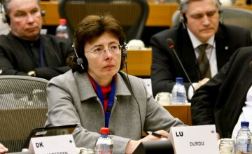 Agnes DUDU, ALDE group meeting
