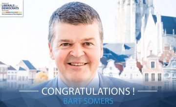 Bart Somers elected as new President