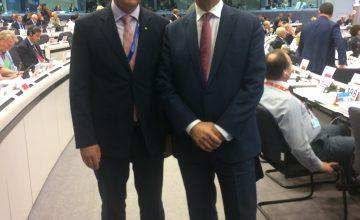 Mart Vorklaev & Ansip CoR Plenary October