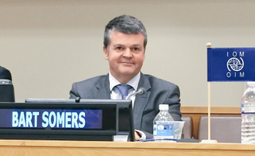 Bart Somers United Nations