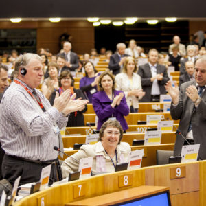 Brussels - Belgium - May 3th, 2012 - Plenary Session