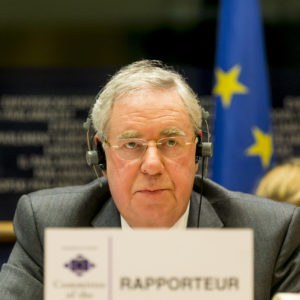 Brussels - Belgium - Novembre 29th, 2012 - Committee of the Regions - 98th Plenary Session - Rapporteur Graham Garvie
