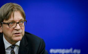 Guy Verhofstadt Renew Europe